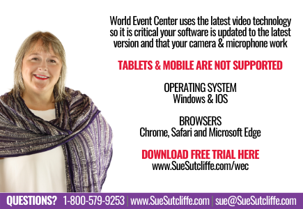 World Event Center uses the latest video technology so it's critical your software is updated to the latest version, that your camera and microphone work, and your system in compliant. Tablets and mobile are not supported.