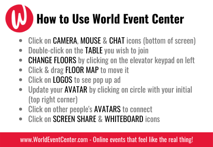 How to Use World Event Center