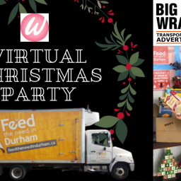 Virtual Christmas Party Raises $300 for Feed The Need in Durham Region