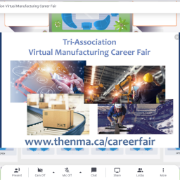 The Tri-Association Virtual Manufacturing Career Fair (May 6, 2021) World Event Center #mfgcareerfair