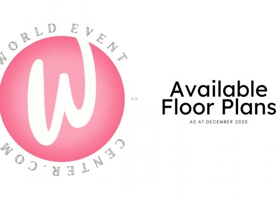 World Event Center Floor Plans